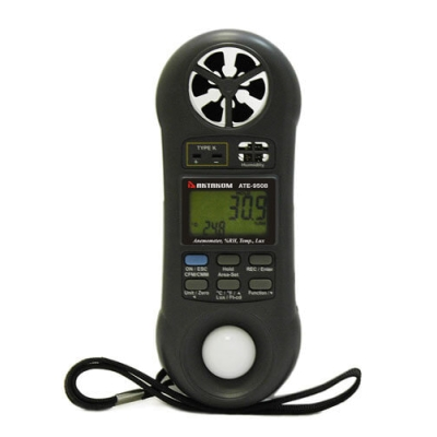АТЕ-9508 (термометр, гигрометр, анемометр, люксметр)