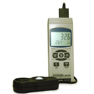 АТЕ-9538 (термометр, гигрометр, анемометр, люксметр)