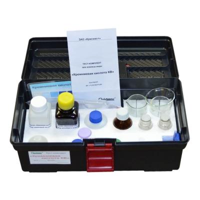 Тест-комплект «Кремниевая кислота КВ»