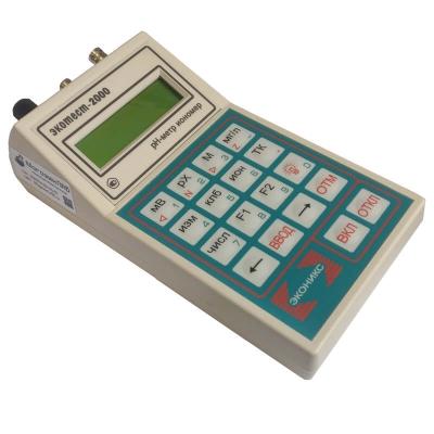 Анализатор жидкости Экотест-2000 рН-метр, иономер, термооксиметр, БПК, термометр, вольтметр