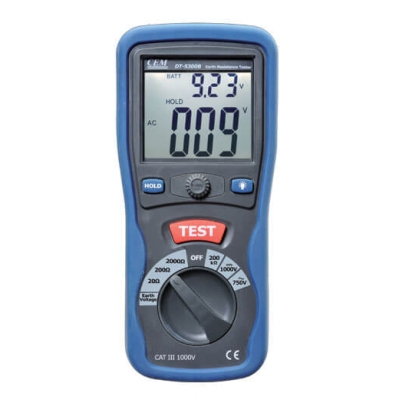 Измеритель сопротивления заземления CEM DT-5300B