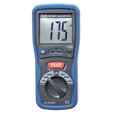 Измеритель сопротивления петли фаза-нуль CEM DT-5301