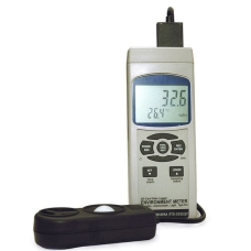 АТЕ-9538BT с Bluetooth (термометр, гигрометр, анемометр, люксметр)
