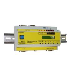Газоанализатор Хоббит-Т-CO-CH4 на DIN-рейке с дисплеем