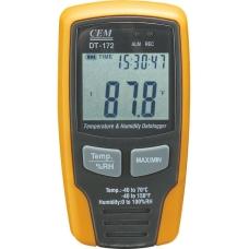 Регистратор температуры и влажности CEM DT-172