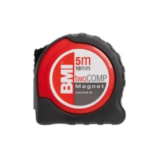Рулетка BMI TAPE twoCOMP MAGNETIC 5 M