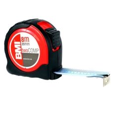 Рулетка BMI TAPE twoCOMP MAGNETIC 8 M
