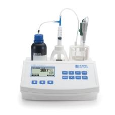 Мини титратор HI 84530 для измерения титруемой кислотности в воде