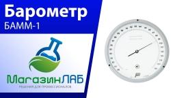 Барометр-анероид БАММ-1 (Видеообзор)